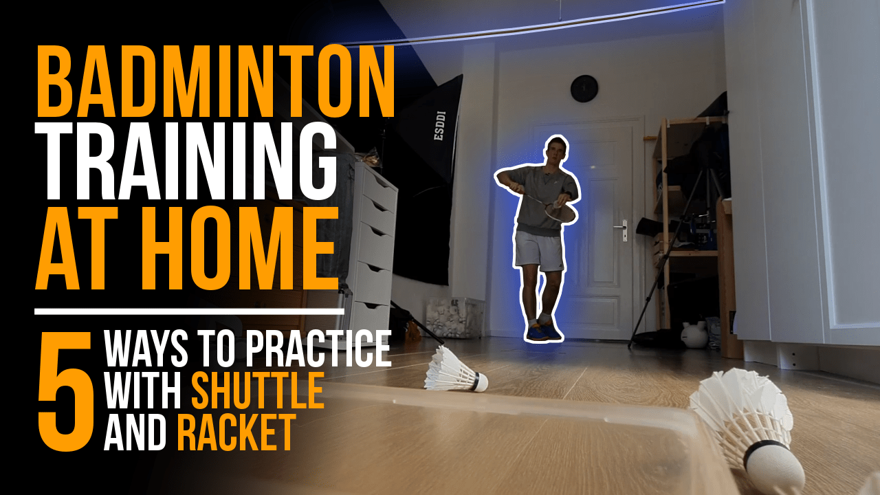 How to practice badminton at home
