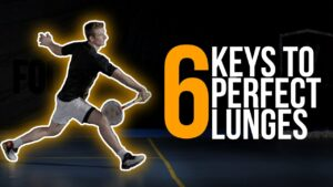 The 6 keys for a perfect Lunge in Badminton
